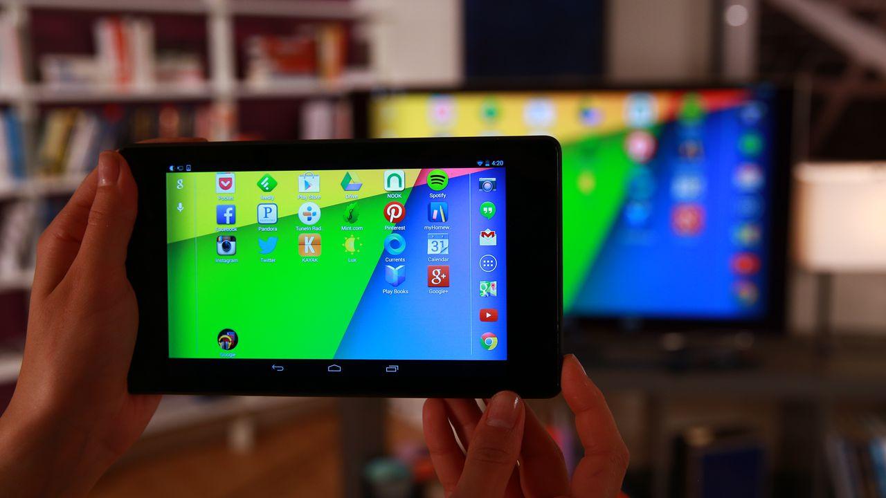 Miracast - вывод изображения с планшета на телевизор