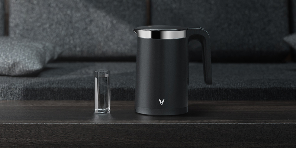 Умный чайник Xiaomi Viomi Smart Kettle Bluetooth Pro (черный)